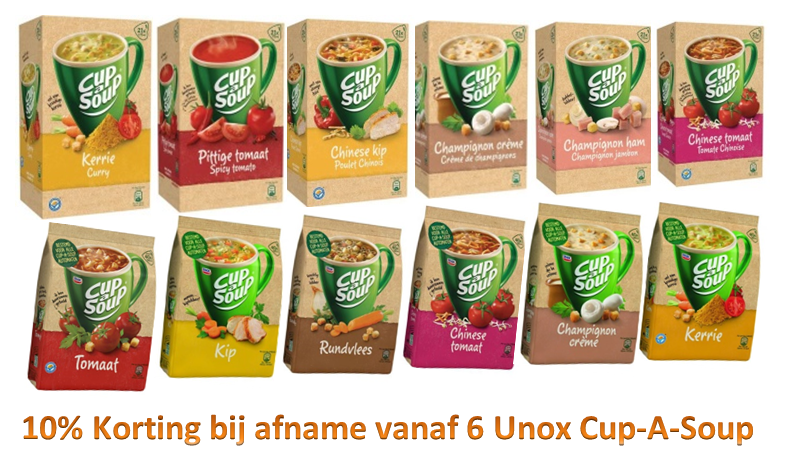 Cup A Soup 10% Korting