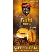 Koffiegilde.nl 100% Arabica Vriesdroog Premium Gold 500 Gram